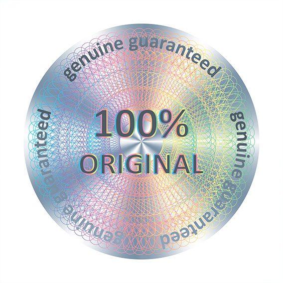 étiquettes hologrammes