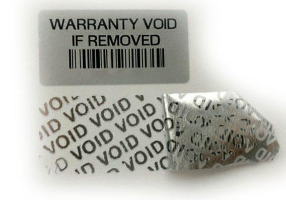 étiquettes de sécurité